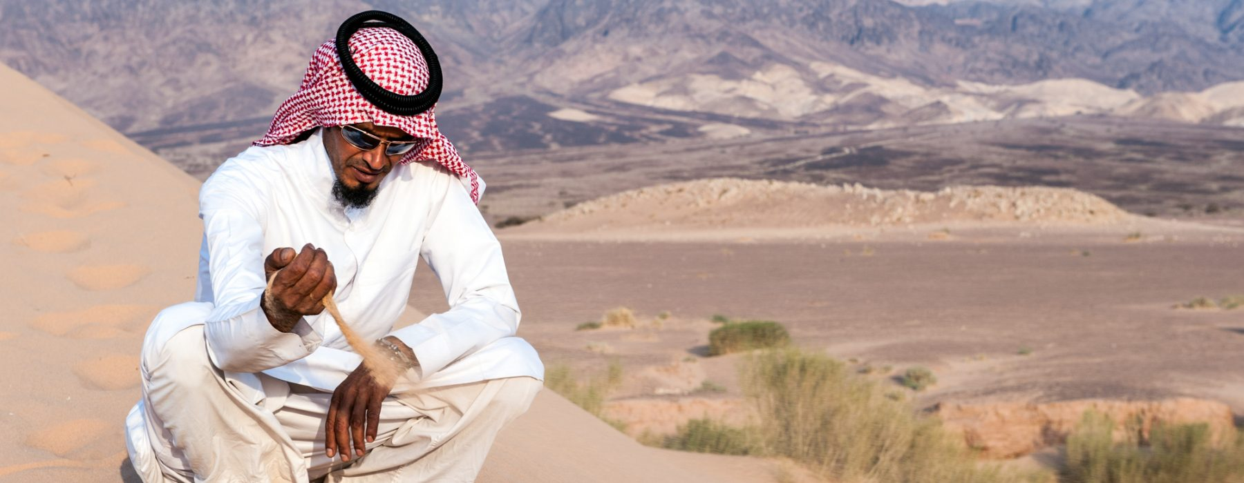 Bedouin tribe in the Arabian desert: from ecolife to Arabic food recipes