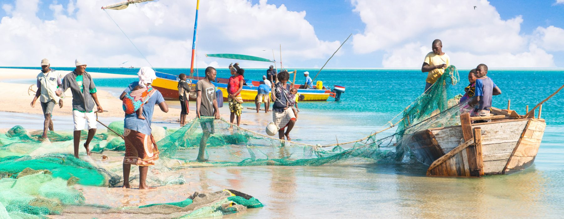 Bazaruto archipelago: a fisherman's life in the wilderness