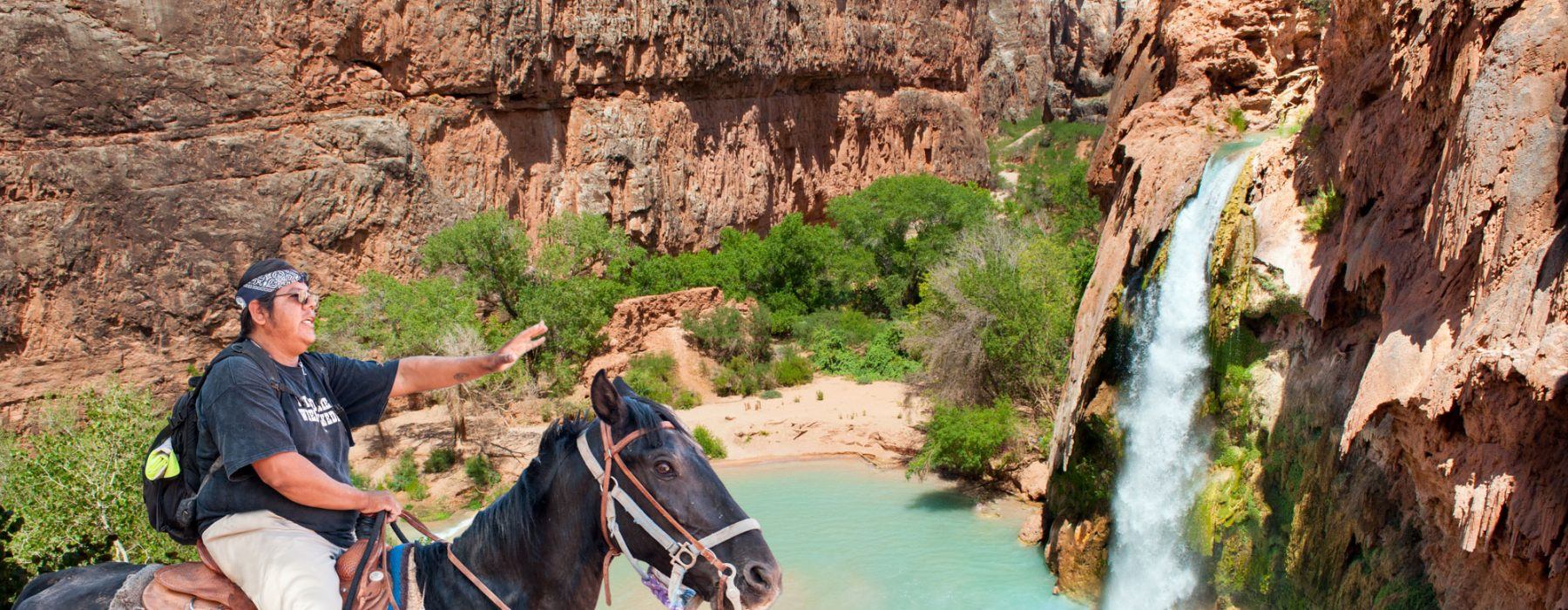 Havasupai tribe: Native American Indian, guardians of the Grand Canyon