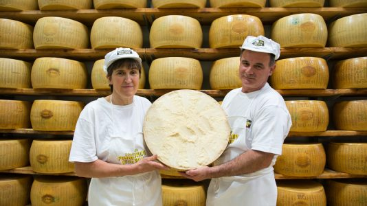 Parmigiano Reggiano how the King of Italian cheese is made